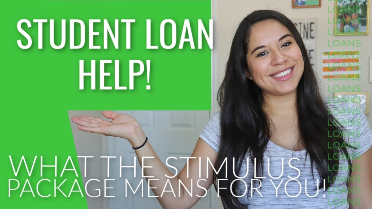 What The New Stimulus Package Means For Your Student Loans