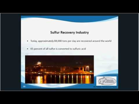 Overview of the Sulfur Recovery Industry
