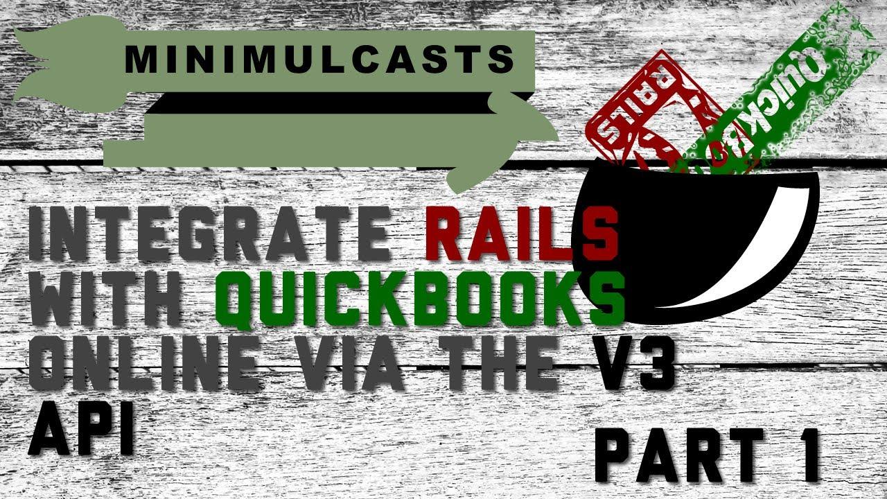 Integrating Rails and QuickBooks Online via the version 3