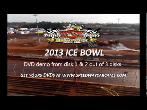 2013 Ice Bowl In-Car Camera DVD DEMO at Talladega Short Track - order yours today