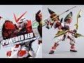 【评头论足】BANDAI 万代 MB 红色异端 POWERED RED 大猩猩手臂+150菊一文字 限定武器配件包Gundam Astray Red Frame  GUNPLA REVIEW