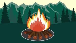 Smokey Bear Campfire Safety Steps