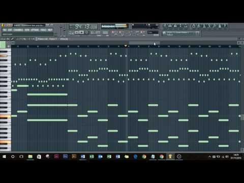 Adele - Someone like U (Piano Remake on Fl studio)