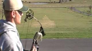 100 yard archery shot