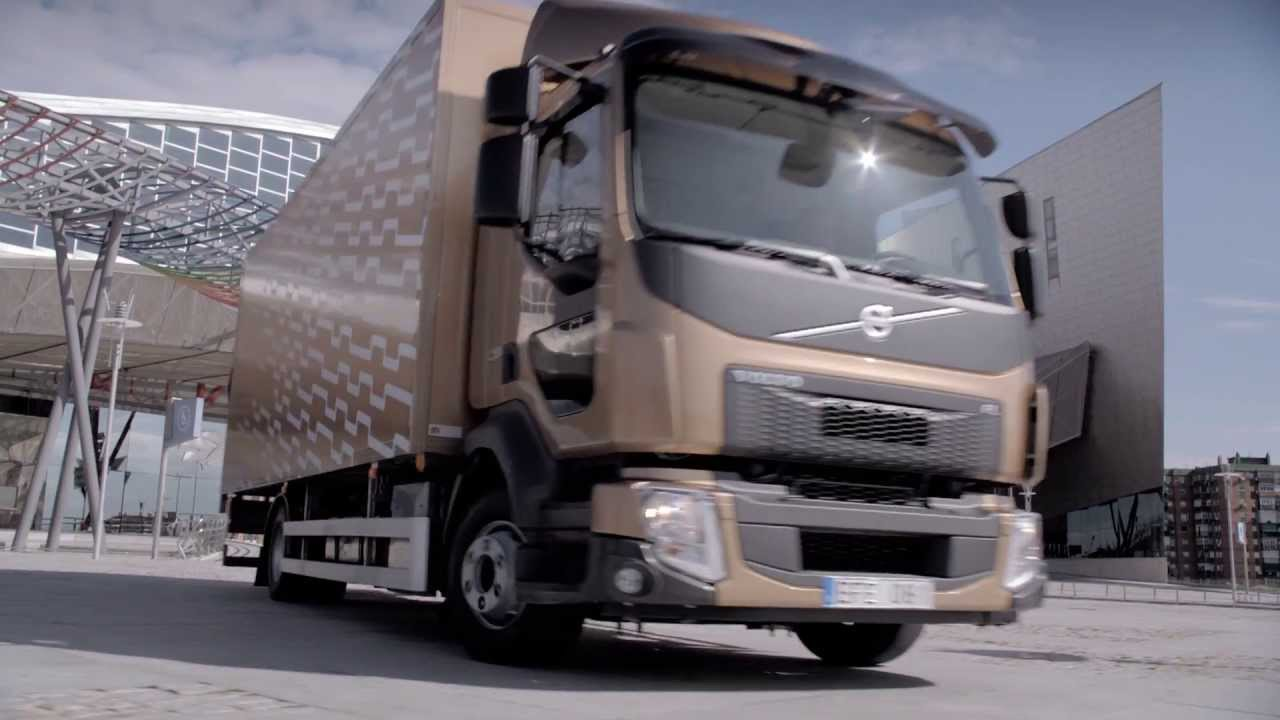 Volvo Trucks - The new Volvo FE and Volvo FL: optimised for city and suburban deliveries - YouTube