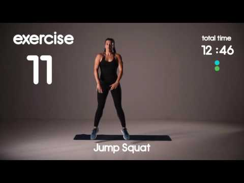 20 min Abs & Cardio HIIT Workout Belly Fat Burner 25s/15s 40s/20s Intervals