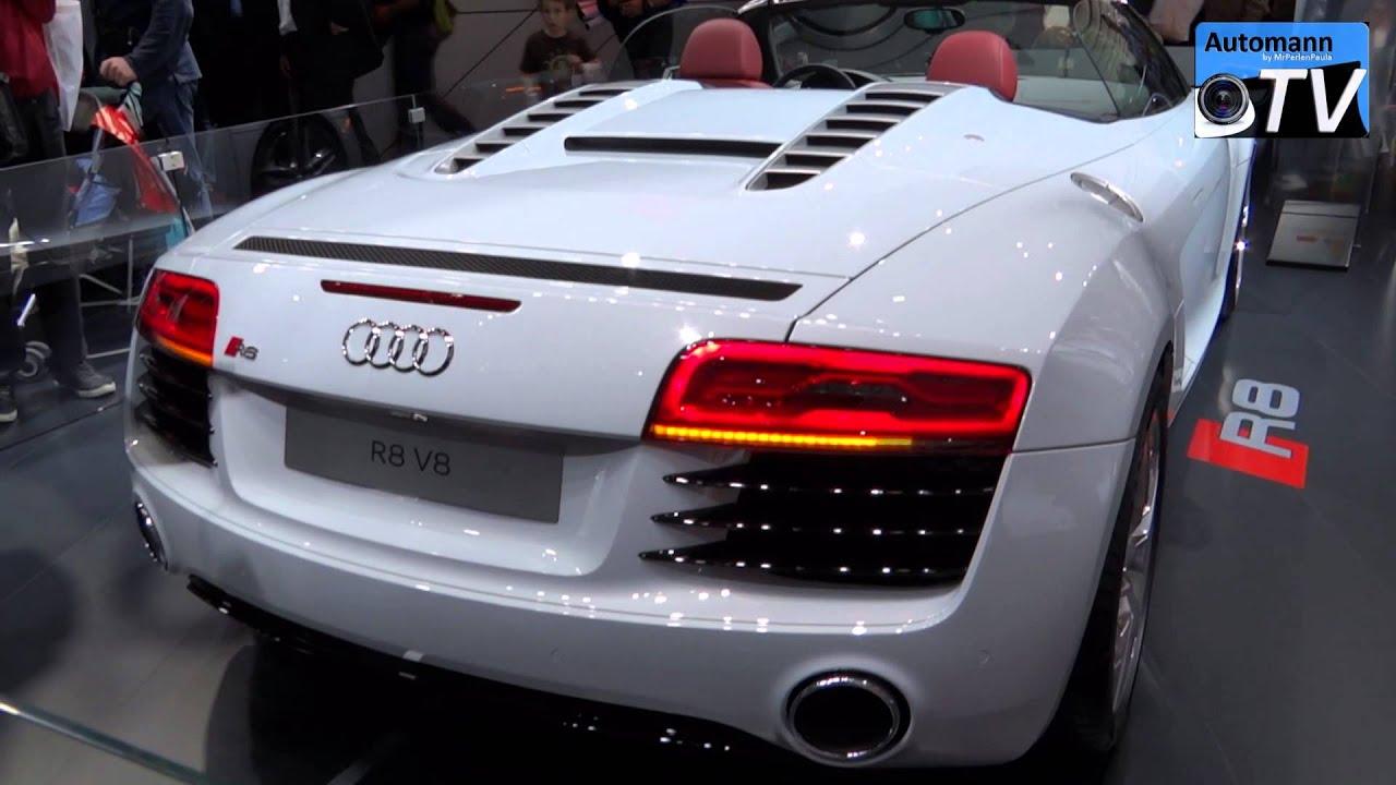 2013 Audi R8 Facelift 4 2 Fsi Spyder In Detail 1080p Full Hd Youtube