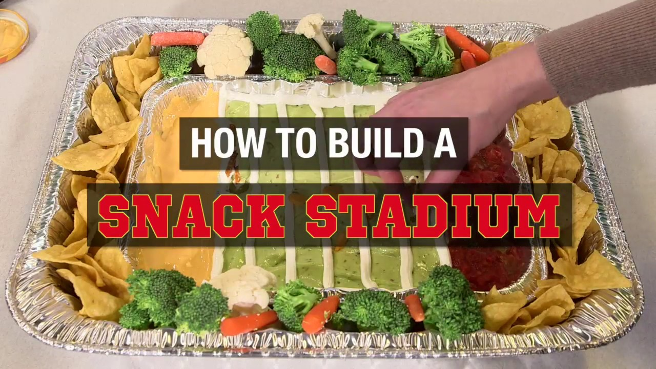 How To Make An Easy Snack Stadium For Game Day