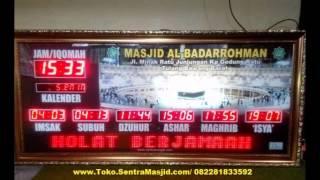 Jam Jadwal Sholat Digital Bandung I 082281833592