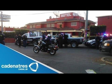 ÚLTIMA HORA: Se reporta balacera en Hotel de Cuautitlan Izcalli (VIDEO)