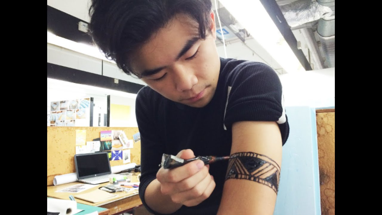 Mehndi Tattoo Images For Boy : Henna for guys youtube