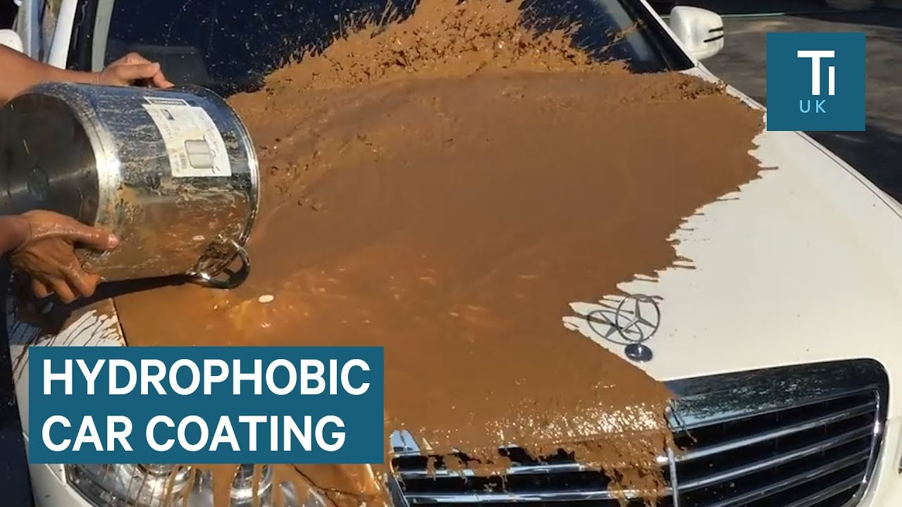 Spray Coating For Cars Repels Water And Dirt — Here's How