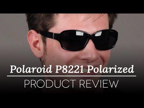 Polaroid Sunglasses Review - Polaroid P8221 Polarized D51/Y2 Sunglasses