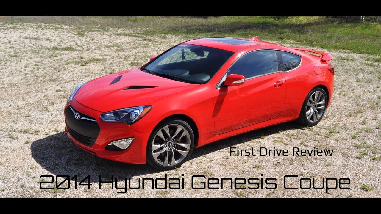 Great 2014 Hyundai Genesis Coupe 3.8 V6   Road Test Review   YouTube