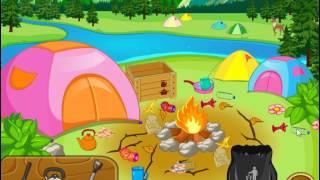 Dora Messy Camp (Даша: Уборка в лагере) - прохождение игры