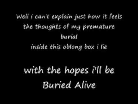 Buried Alive Lyrics By Creature Feature mp3