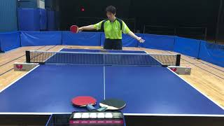 Butterfly Training Tips: How To Handle Balls To The Middle With Huijing Wang