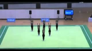 incredible Japanese Synchronized Gymnastics !