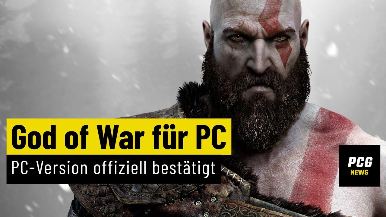 God of War kommt für den PC - offiziell bestätigt   News