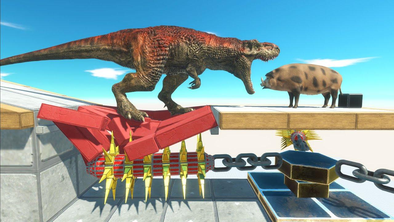 Trap Chain Mace Spike - Animal Revolt Battle Simulator