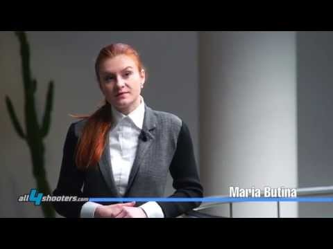 Maria Butina Chairman of the Russian organization The Right to Bear Arms at IWA Nuremberg 2014