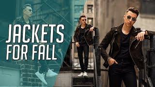 6 STYLISH Fall Jackets 2019 || Gent's Lounge