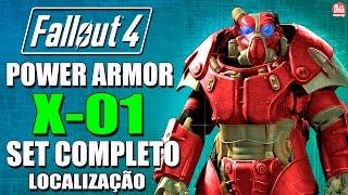 Fallout 4 - POWER ARMOR X-01 SET COMPLETO ( Localização ) [ Mais Forte do Jogo! ]