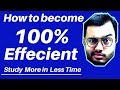 Download Video How to Study MORE in LESS Time |  How to Increase Your Productivity  |  | MP4,  Mp3,  Flv, 3GP & WebM gratis