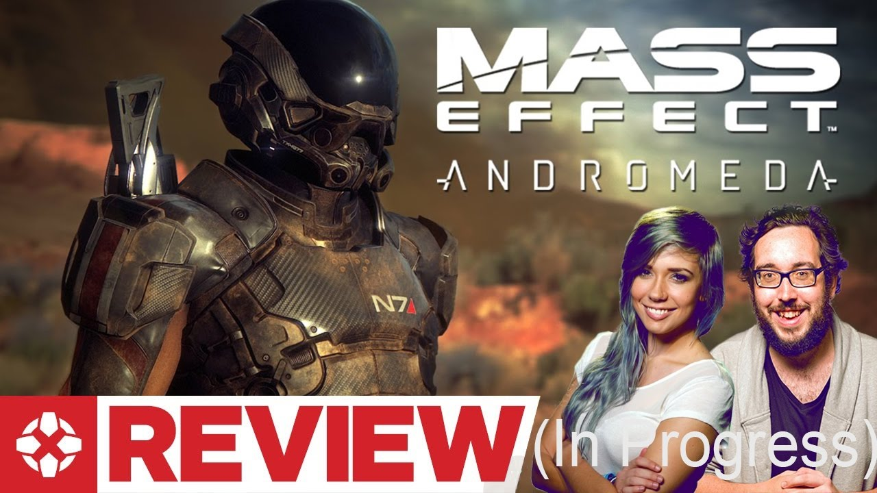 Mass Effect Andromeda Review IGN (In Progress) - Marty Sliva - YouTube