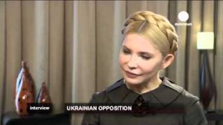 Yulia Tymoshenko on Euronews (English Version)