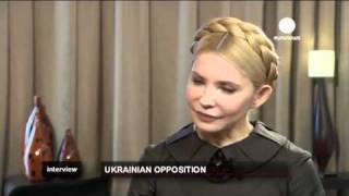 Yulia Tymoshenko on Euronews (English Version)