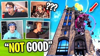 LG Fortnite House Reacts to Fortnite RUINED by NEW SEASON... (NEW Physics Engine UPDATE)