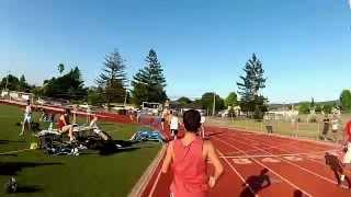 Sub 5 minute mile with the GoPro! -Vojta Ripa