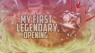 MY VERY FIRST LEGENDARY OPENING!? *CORUPTED FILE* | Clash Royale