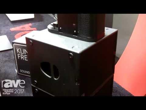ISE 2017: Kling & Freitag Displays New ViDa Line Array Speaker