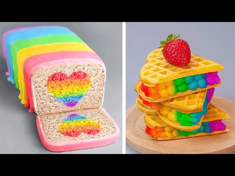 The Best Heart Cake for Weekends | Amazing Chocolate Cake Recipes | Cake Design Ideas 2020