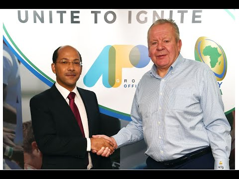 Rugby's new passionate frontier: Africa; APO Group becomes the Official Partner of Rugby Africa