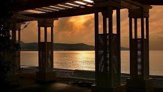 Nice - La promenade des Anglais au lever du soleil