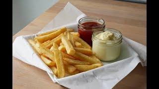 Homemade French Fries (Recipe) || [ENG SUBS]
