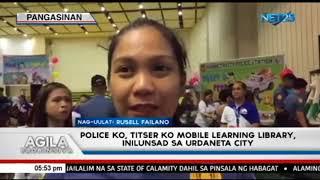 'Police ko, Titser ko Mobile Learning Library', inilunsad sa Urdaneta City