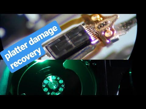 Recover Data On Hard Drive With Platter Damage