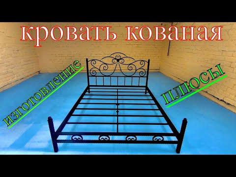 Кованая Кровать. Изготовление Кровати Кованой. Металлическая Кровать. Кровать Кованая из Металла.