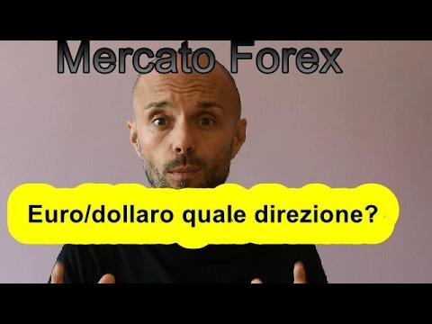Mercato Forex Euro/Dollaro dove sta andando?