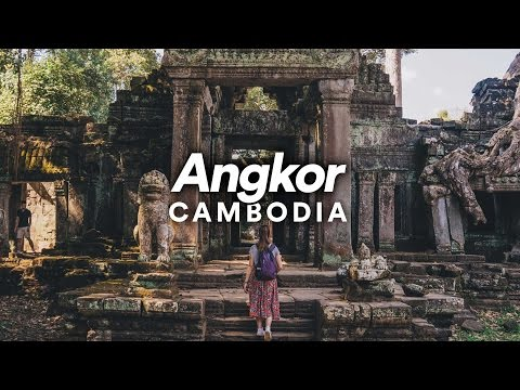 Angkor, Cambodia - Travel Video - 2017