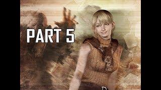 Resident Evil 4 Remastered Gameplay Walkthrough Part 5 - Ashley Graham (RE4 Let's Play Commentary)
