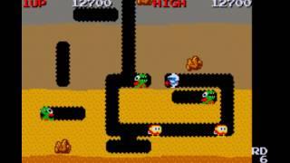 Dig Dug gameplay