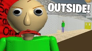 A SECRET WAY OUTSIDE OF THE MAP! | Baldis ANTI Basics in Education and Learning (NEW) thumbnail