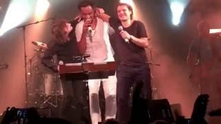 Benabar, Cali et Yannick Noah chante Quand j'étais chanteur - Terre des hommes 2016