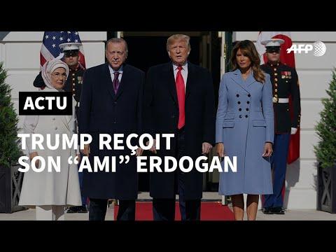 AFP: Trump reçoit son