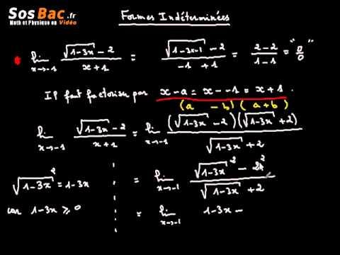 Limites et Continuité cours 5 : 2 BAC International